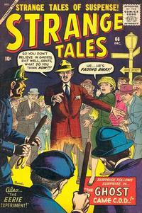 Cover Thumbnail for Strange Tales (Marvel, 1951 series) #66