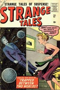 Cover Thumbnail for Strange Tales (Marvel, 1951 series) #67