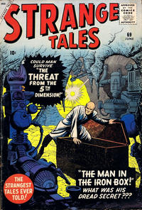 Cover for Strange Tales (Marvel, 1951 series) #69