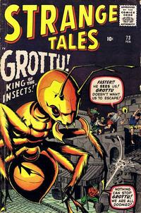 Cover Thumbnail for Strange Tales (Marvel, 1951 series) #73