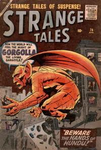 Cover for Strange Tales (Marvel, 1951 series) #74