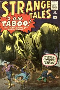 Cover Thumbnail for Strange Tales (Marvel, 1951 series) #75