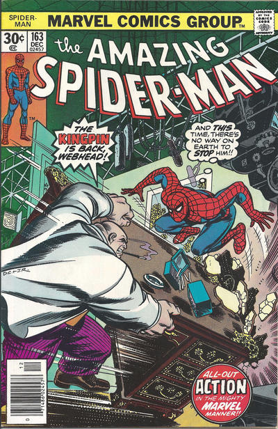 Cover for The Amazing Spider-Man (Marvel, 1963 series) #163