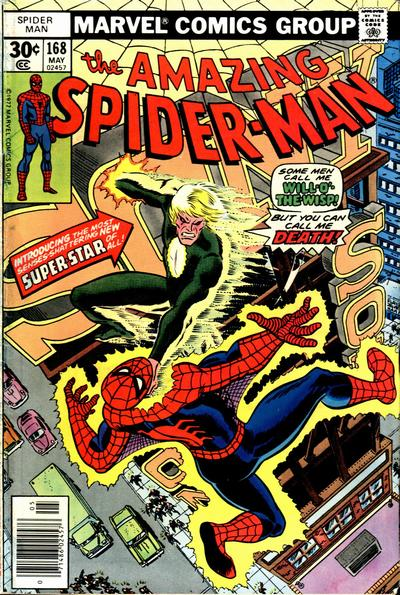 Cover for The Amazing Spider-Man (Marvel, 1963 series) #168 [Whitman Edition]