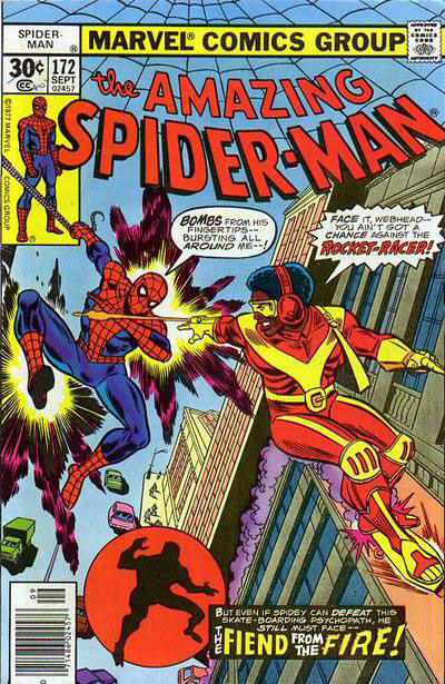 Cover for The Amazing Spider-Man (Marvel, 1963 series) #172 [Whitman Edition]