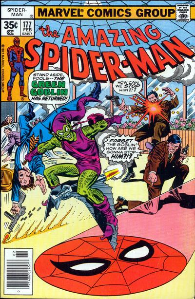 Cover for The Amazing Spider-Man (Marvel, 1963 series) #177