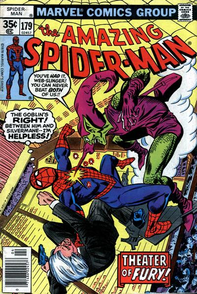 Cover for The Amazing Spider-Man (Marvel, 1963 series) #179 [Regular Edition]