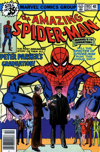 Cover for The Amazing Spider-Man (Marvel, 1963 series) #185 [Regular Edition]
