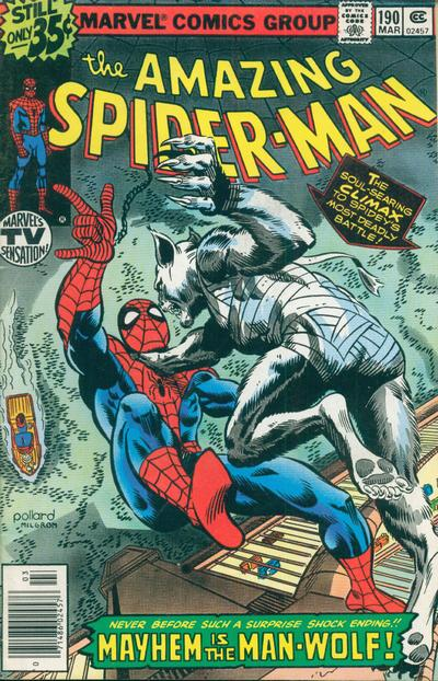 Cover for The Amazing Spider-Man (Marvel, 1963 series) #190