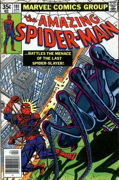 Cover for The Amazing Spider-Man (Marvel, 1963 series) #191
