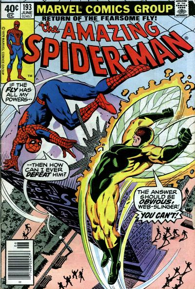 Cover for The Amazing Spider-Man (Marvel, 1963 series) #193 [Direct]