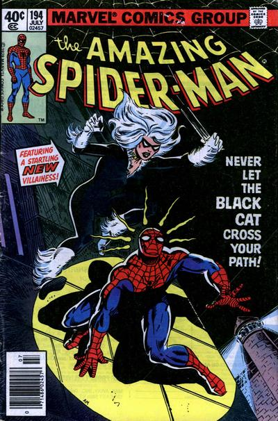 Cover for The Amazing Spider-Man (Marvel, 1963 series) #194 [Newsstand Edition]