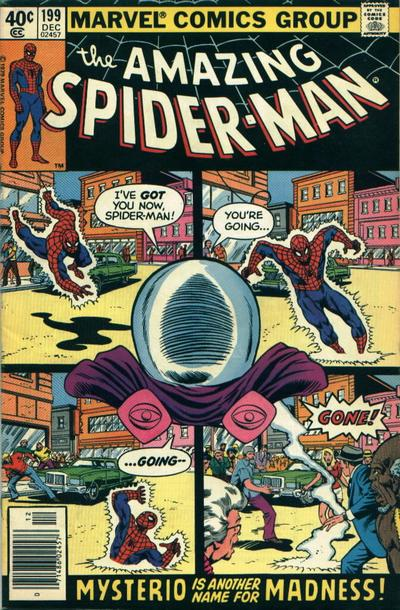 Cover for The Amazing Spider-Man (Marvel, 1963 series) #199 [Direct Edition]