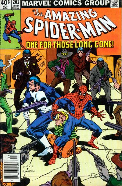 Cover for The Amazing Spider-Man (Marvel, 1963 series) #202 [Direct Edition]