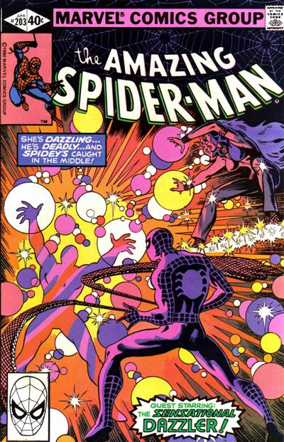 Cover for The Amazing Spider-Man (Marvel, 1963 series) #203 [Direct Edition]
