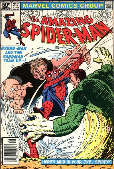 Cover for The Amazing Spider-Man (Marvel, 1963 series) #217 [Newsstand]
