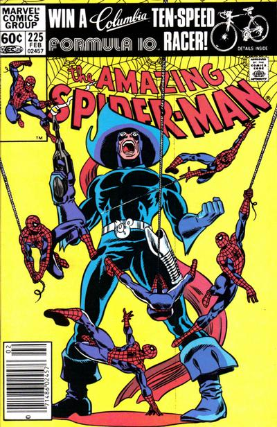 Cover for The Amazing Spider-Man (Marvel, 1963 series) #225 [Newsstand Edition]