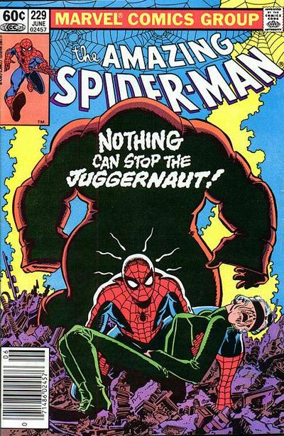 Cover for The Amazing Spider-Man (Marvel, 1963 series) #229 [Direct Edition]