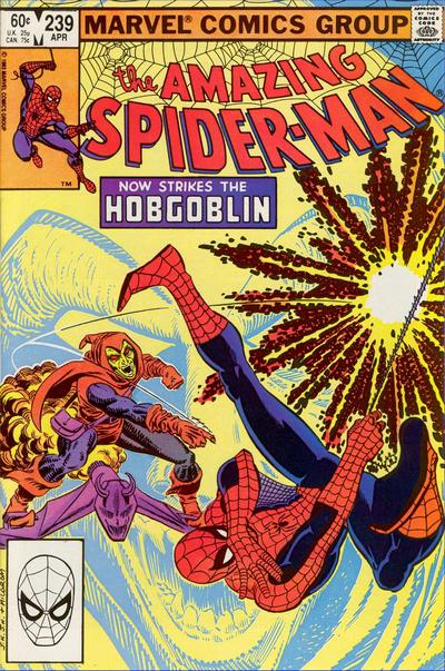 Cover for The Amazing Spider-Man (Marvel, 1963 series) #239 [Direct Edition]