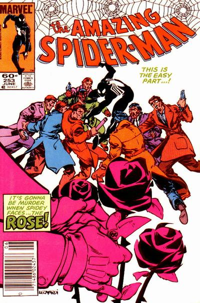 Cover for The Amazing Spider-Man (Marvel, 1963 series) #253 [Newsstand Edition]