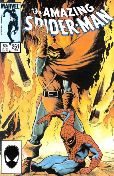 Cover for The Amazing Spider-Man (Marvel, 1963 series) #261 [Newsstand Edition]