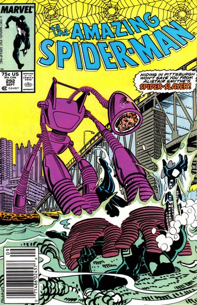 Cover for The Amazing Spider-Man (Marvel, 1963 series) #292 [Newsstand Edition]