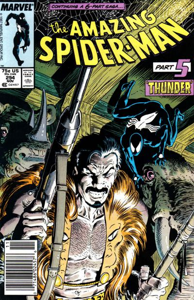 Cover for The Amazing Spider-Man (Marvel, 1963 series) #294 [Direct]