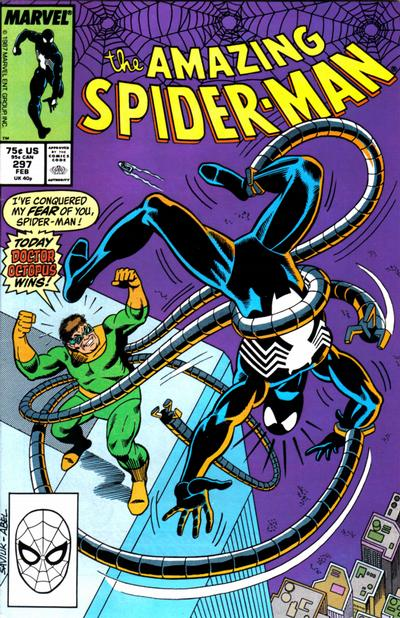 Cover for The Amazing Spider-Man (Marvel, 1963 series) #297 [Direct Edition]