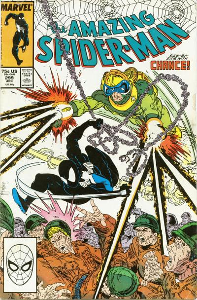 Cover for The Amazing Spider-Man (Marvel, 1963 series) #299 [Direct Edition]