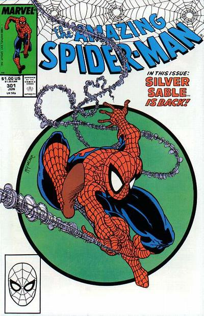 Cover for The Amazing Spider-Man (Marvel, 1963 series) #301 [Direct]