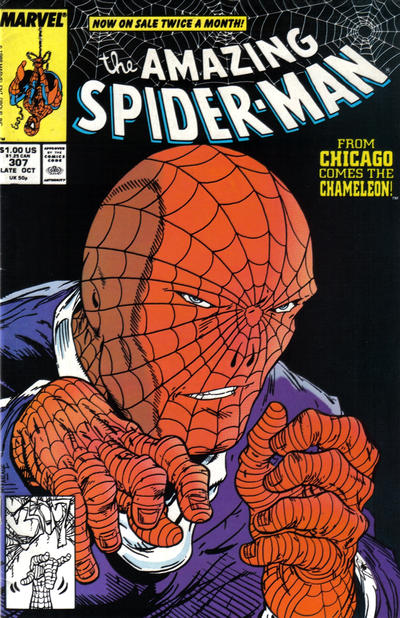 Cover for The Amazing Spider-Man (Marvel, 1963 series) #307 [Newsstand]