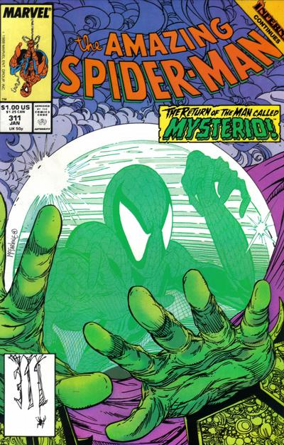 Cover for The Amazing Spider-Man (Marvel, 1963 series) #311 [Newsstand Edition]