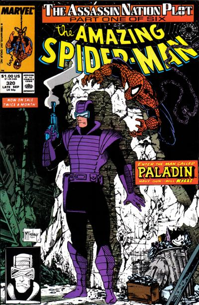 Cover for The Amazing Spider-Man (Marvel, 1963 series) #320 [Direct Edition]