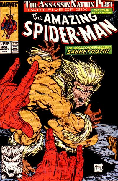 Cover for The Amazing Spider-Man (Marvel, 1963 series) #324 [Direct]
