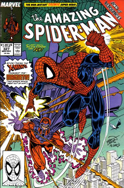 Cover for The Amazing Spider-Man (Marvel, 1963 series) #327 [Direct Edition]