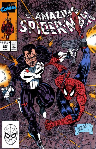 Cover for The Amazing Spider-Man (Marvel, 1963 series) #330 [Direct]