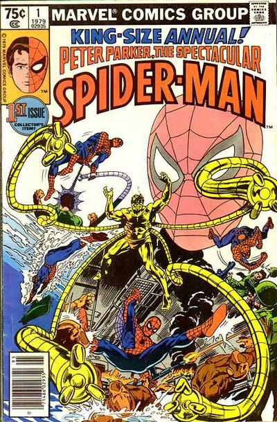 Cover for The Spectacular Spider-Man Annual (Marvel, 1979 series) #1 [Direct]