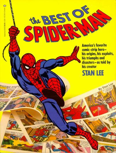 Cover for The Best of Spider-Man (Marvel, 1986 series) #[nn]