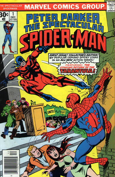Cover for The Spectacular Spider-Man (Marvel, 1976 series) #1