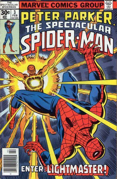 Cover for The Spectacular Spider-Man (Marvel, 1976 series) #3