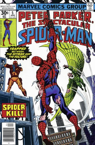 Cover for The Spectacular Spider-Man (Marvel, 1976 series) #5