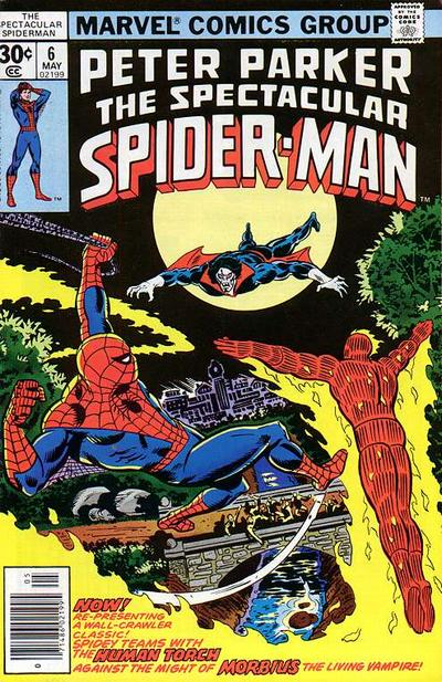 Cover for The Spectacular Spider-Man (Marvel, 1976 series) #6