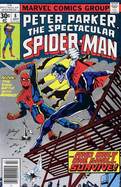 Cover for The Spectacular Spider-Man (Marvel, 1976 series) #8 [30 cent cover price]