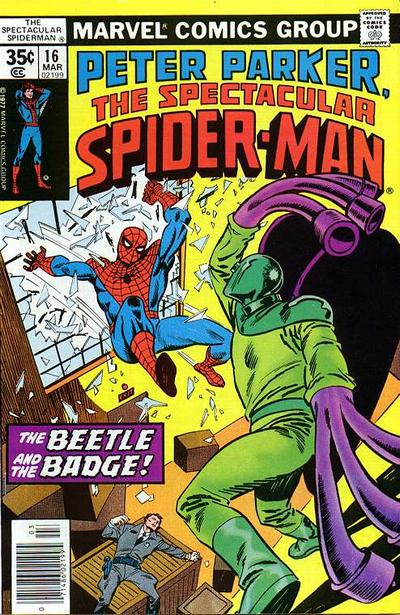Cover for The Spectacular Spider-Man (Marvel, 1976 series) #16