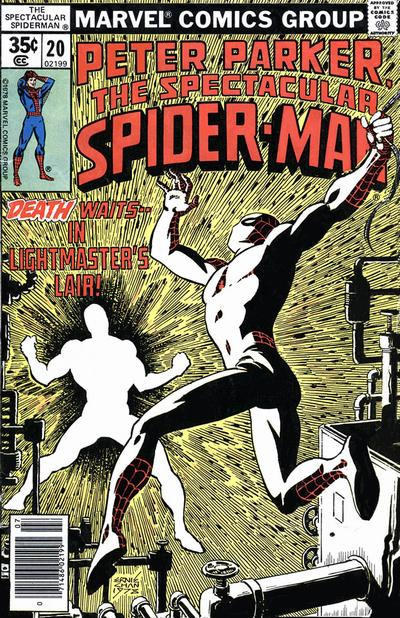 Cover for The Spectacular Spider-Man (Marvel, 1976 series) #20