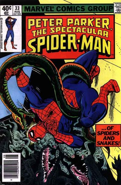 Cover for The Spectacular Spider-Man (Marvel, 1976 series) #33