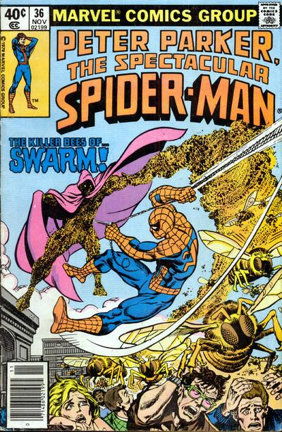 Cover for The Spectacular Spider-Man (Marvel, 1976 series) #36
