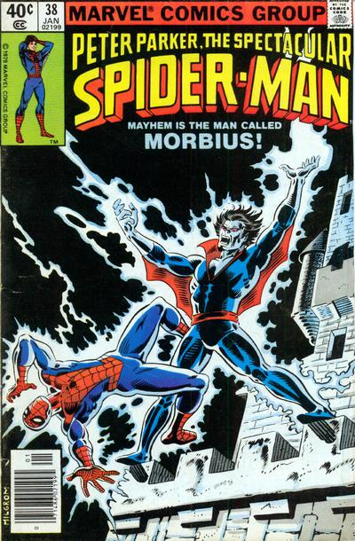 Cover for The Spectacular Spider-Man (Marvel, 1976 series) #38