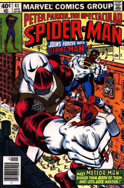Cover for The Spectacular Spider-Man (Marvel, 1976 series) #41