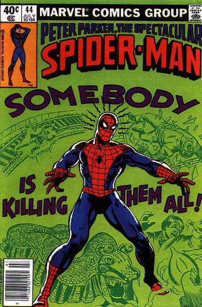 Cover for The Spectacular Spider-Man (Marvel, 1976 series) #44